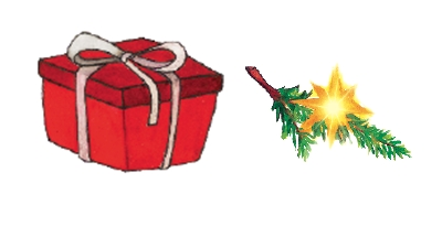 present, christmas tree